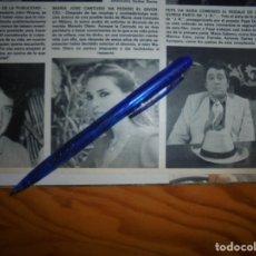 Collectionnisme de Magazine Hola: RECORTE : MARIA JOSE CANTUDO HA PEDIDO EL DIVORCIO. HOLA, FBRERO 1983 (). Lote 176496097