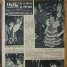 Coleccionismo de Revista Hola: RECORTE REVISTA HOLA Nº 2262 1987 TAMARA FALCÓ, SEVERIANO BALLESTEROS, JUNCAL RIVERO. Lote 177342157