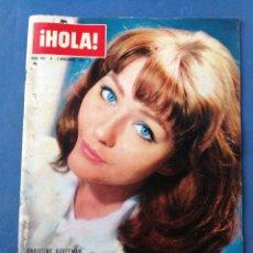 Coleccionismo de Revista Hola: REVISTA HOLA- CHRISTINE KAUFFMAN- N°949, 3 NOVIEMBRE 1962.. Lote 177411699