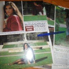 Coleccionismo de Revista Hola: RECORTE : ENTREVISTA A DANIELA ROMO HOLA, OCTUBRE 1984 (). Lote 177738040