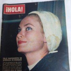 Coleccionismo de Revista Hola: HOLA 1068.13.2.1965 GRACE KELLY, CAPUCINE. Lote 177752690