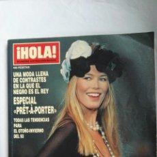Coleccionismo de Revista Hola: ¡HOLA! ESPECIAL PRET-A-PORTER OTOÑO-INVIERNO 1993 CLAUDIA SCHIFFER. Lote 177789175