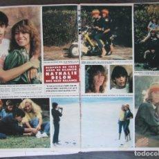 Coleccionismo de Revista Hola: RECORTE HOLA Nº 1902 1981 NATHALIE DELON 4 PGS.. Lote 244478500