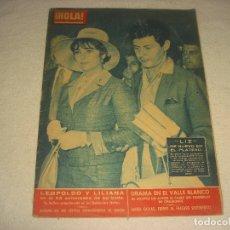 Coleccionismo de Revista Hola: HOLA N. 889 . SEPTIEMBRE 1961. EN PORTADA ELIZABETH TAYLOR Y SU ESPOSO EDDIE FISHER.. Lote 178253360