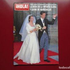 Coleccionismo de Revista Hola: HOLA 2642. Lote 178868625