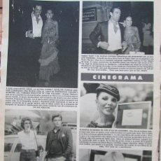 Coleccionismo de Revista Hola: RECORTE REVISTA HOLA Nº 1821 1979 AUDREY HEPBURN, FABIO TESTI,. Lote 178953023