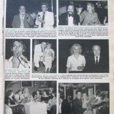 Coleccionismo de Revista Hola: RECORTE REVISTA HOLA Nº 1821 1979 TORRE. Lote 178954728