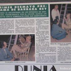 Coleccionismo de Revista Hola: RECORTE REVISTA HOLA Nº 1887 1980 BARBARA REY. Lote 179253066