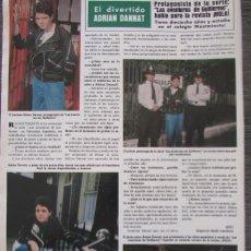 Coleccionismo de Revista Hola: RECORTE REVISTA HOLA Nº 1887 1980 ADRIAN DANNAT. Lote 179253816