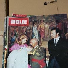 Coleccionismo de Revista Hola: REVISTA HOLA BAUTIZO DE LOS DUQUES DE CÁDIZ. Lote 180199831