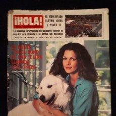 Coleccionismo de Revista Hola: REVISTA HOLA Nº 1774. LOIS CHILES, SOFIA LREN, CRISTINA ONASSIS.. Lote 180283748