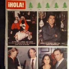 Coleccionismo de Revista Hola: REVISTA HOLA Nº 1896.EXRA NAVIDAD 1980.. Lote 180283866