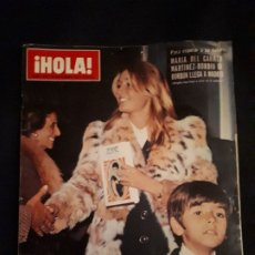 Coleccionismo de Revista Hola: REVISTA HOLA Nº 1474. MARI CARMEN MARTINEZ BORDIU, PETULA CLARK, CHARLES BRONSON. Lote 180284330