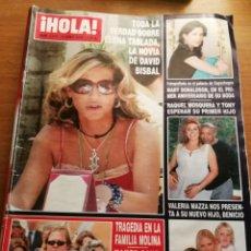 Coleccionismo de Revista Hola: HOLA 3175. Lote 180297296