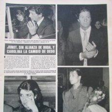 Collezionismo di Rivista Hola: RECORTE REVISTA HOLA Nº 1890 1980 CAROLINA DE MONACO, FERNANDO ROMAY, FELIX RODRIGUEZ DE LA FUENTE. Lote 181559423