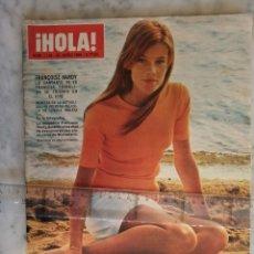 Coleccionismo de Revista Hola: HOLA -FRANÇOISE HARDY -AUDREY HEPBURN -CHARLTON HESTON - GARY GRANT - RAQUEL MUSSOLINI - GRACE KELLY. Lote 181642681