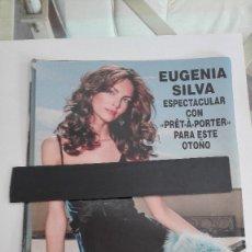 Coleccionismo de Revista Hola: RECORTE DE REVISTA CLIPPING EUGENIA SILVA . Lote 181771311