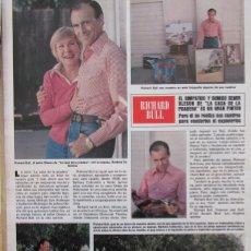 Collectionnisme de Magazine Hola: RECORTE REVISTA HOLA Nº 1872 1980 RICHARD BULL. Lote 182274438