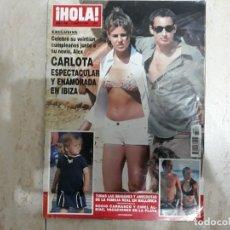 Coleccionismo de Revista Hola: FAMILIA REAL, ROCIO CARRASCO,CARLOTA Y ALEX ETC..HOLA 3289. Lote 182396228