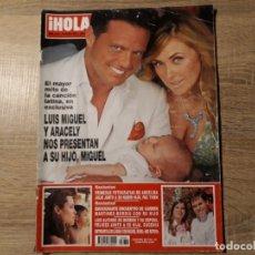 Coleccionismo de Revista Hola: HOLA 3269. Lote 182399373