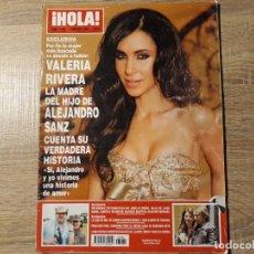 Coleccionismo de Revista Hola: HOLA 3262. Lote 182399527