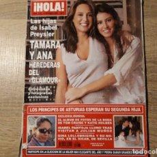 Coleccionismo de Revista Hola: ISABEL PREISLER ,ISABEL PANTOJA ETC HOLA 3253. Lote 182399680