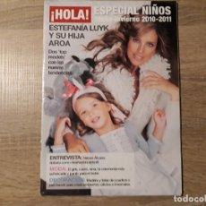 Coleccionismo de Revista Hola: ESTEFANIA Y SU HIJA AROA.ETC HOLA ESPECIAL NIÑOS.. Lote 182400036