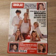 Coleccionismo de Revista Hola: PRINCESA DE ASTURIAS ,CAROLINA MIRANDA ETC..HOLA 3265. Lote 182400297