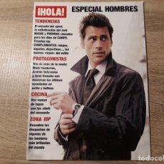 Coleccionismo de Revista Hola: HOLA ESPECIAL HOMBRES .ANDRÉS VELENCOSO.ETC... Lote 182400885