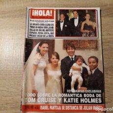 Coleccionismo de Revista Hola: INFANTA ELENA, TOM CRUISSE, ISABEL PANTOJA ETC.HOLA 3252. Lote 182401963