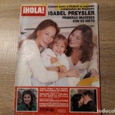 Collectionnisme de Magazine Hola: ISABEL PREYSLER, PENELOPE CRUZ ETC..HOLA 3103. Lote 182403026