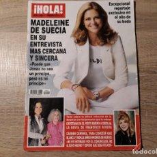 Collectionnisme de Magazine Hola: DUQUESA DE ALBA , MADELEINE DE SUECIA ,CARMEN CERVERA ETC.HOLA 3420. Lote 182405192