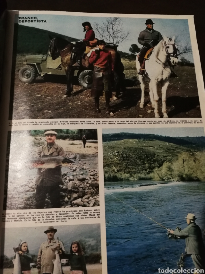 Coleccionismo de Revista Hola: REVISTA HOLA FRANCO HA MUERTO - Foto 7 - 182549766