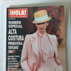 Coleccionismo de Revista Hola: HOLA NUMERO ESPECIAL ALTA COSTURA PRIMAVERA-VERANO 1997. Lote 182679402