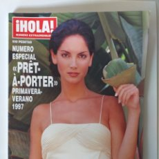 Coleccionismo de Revista Hola: HOLA NUMERO ESPECIAL PRET A PORTER PRIMAVERA-VERANO 1997. Lote 182680277