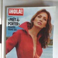Coleccionismo de Revista Hola: HOLA NUMERO EXTRAORDINARIO PRET A PORTER PRIMAVERA-VERANO 2001. Lote 182686255
