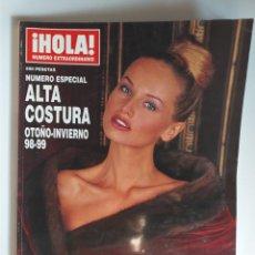 Coleccionismo de Revista Hola: HOLA NUMERO ESPECIAL ALTA COSTURA OTOÑO-INVIERNO 98-99. Lote 182687055