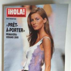 Coleccionismo de Revista Hola: HOLA NUMERO ESPECIAL PRET A PORTER PRIMAVERA-VERANO 2000. Lote 182687295