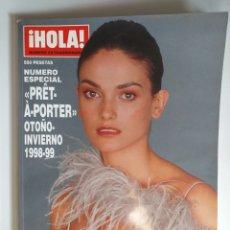 Coleccionismo de Revista Hola: HOLA NUMERO ESPECIAL PRET A PORTER OTOÑO-INVIERNO 1998-1999. Lote 182688181