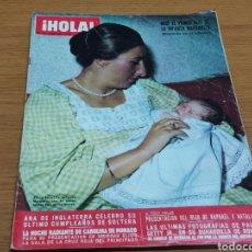 Coleccionismo de Revista Hola: REVISTA HOLA 1912 * 18 AGOSTO 1973 * CAROLINA DE MONACO + RAPHAEL + ELIZABETH TAYLOR * 61. Lote 182694198