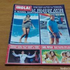 Coleccionismo de Revista Hola: REVISTA HOLA Nº 2454 AÑO 1991. PRINCIPE FELIPE E ISABEL SARTORIUS. ISABEL PREYSLER. FRANCISCO RIVER. Lote 182694758