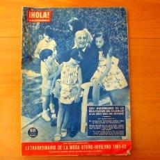 Colecionismo da Revista Hola: REVISTA HOLA-Nº 892, AÑO 1961-XXV ANIVERSARIO DE LA EXALTACIÓN DEL CAUDILLO A LA JEFATURA DEL ESTADO. Lote 182834322