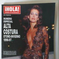 Coleccionismo de Revista Hola: HOLA NUMERO ESPECIAL ALTA COSTURA OTOÑO-INVIERNO 1996-1997. Lote 183184701