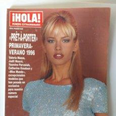 Coleccionismo de Revista Hola: HOLA NUMERO EXTRAORDINARIO PRET A PORTER PRIMAVERA-VERANO 1996. Lote 183186142