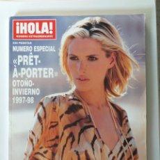 Coleccionismo de Revista Hola: HOLA NUMERO ESPECIAL PRET A PORTER OTOÑO-INVIERNO 1997-98. Lote 183415420