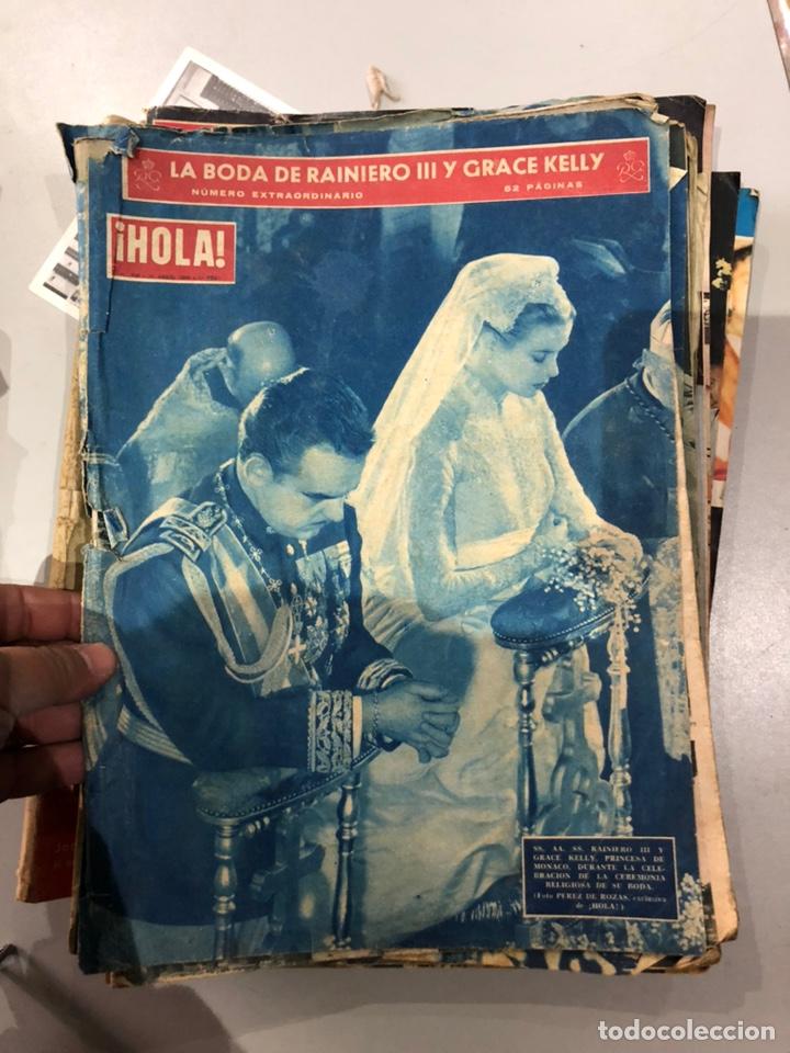 Coleccionismo de Revista Hola: Lote de 16 revistas Hola años 50-60- ver las Fotos - Foto 2 - 183684792