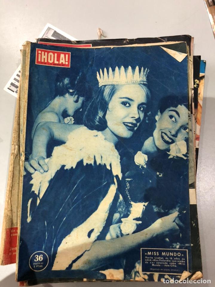 Coleccionismo de Revista Hola: Lote de 16 revistas Hola años 50-60- ver las Fotos - Foto 3 - 183684792