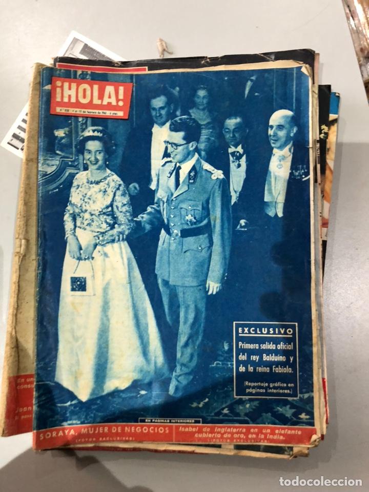 Coleccionismo de Revista Hola: Lote de 16 revistas Hola años 50-60- ver las Fotos - Foto 4 - 183684792