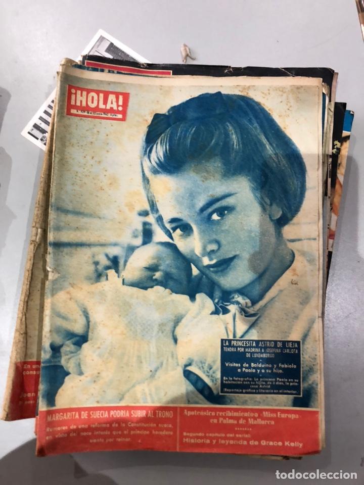 Coleccionismo de Revista Hola: Lote de 16 revistas Hola años 50-60- ver las Fotos - Foto 5 - 183684792