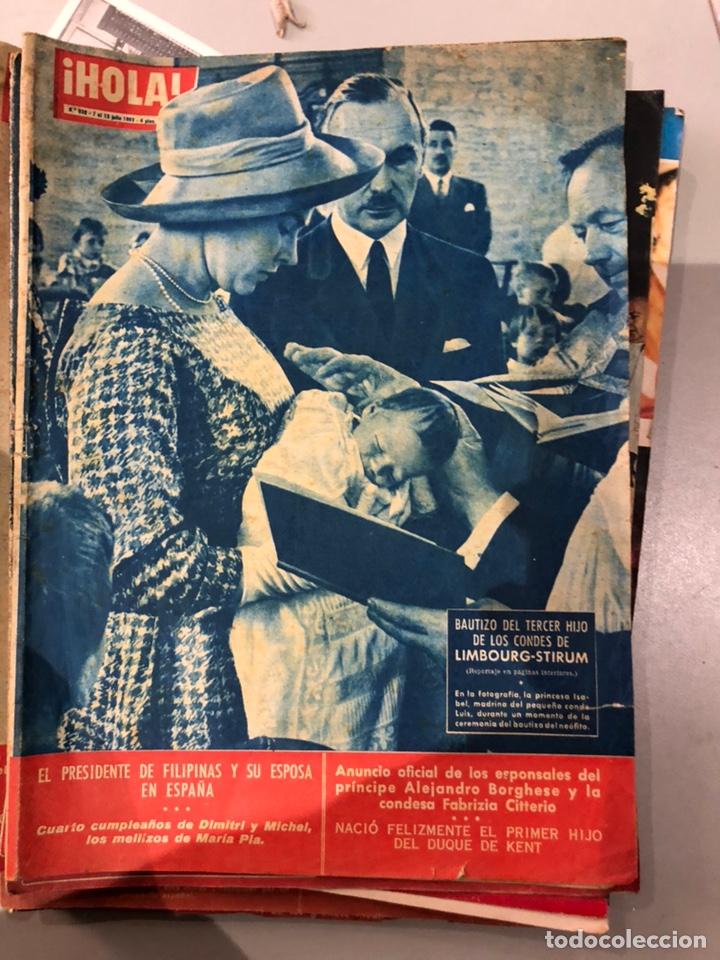 Coleccionismo de Revista Hola: Lote de 16 revistas Hola años 50-60- ver las Fotos - Foto 6 - 183684792